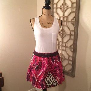 Dresses & Skirts - Pink Aztec Print Skirt